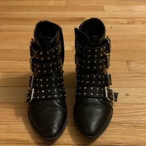 Circus by Sam Edelman Hutton Studded Ankle Boootie